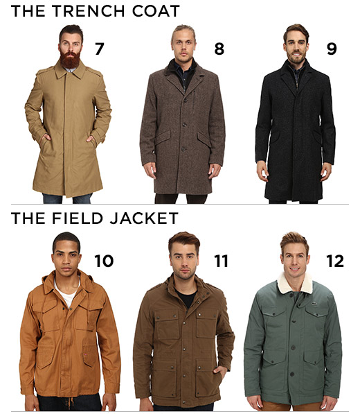 Types of coats for mens – Modern fashion jacket photo blog